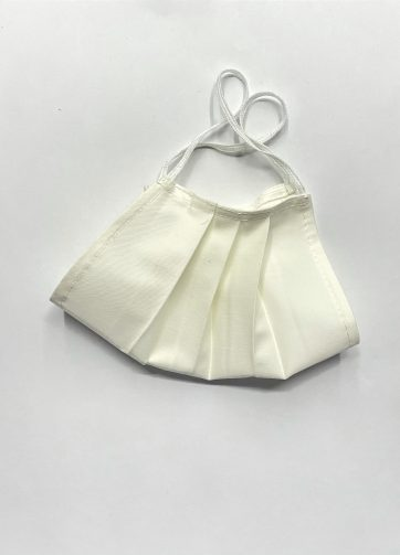 mascherina bianca lavabile