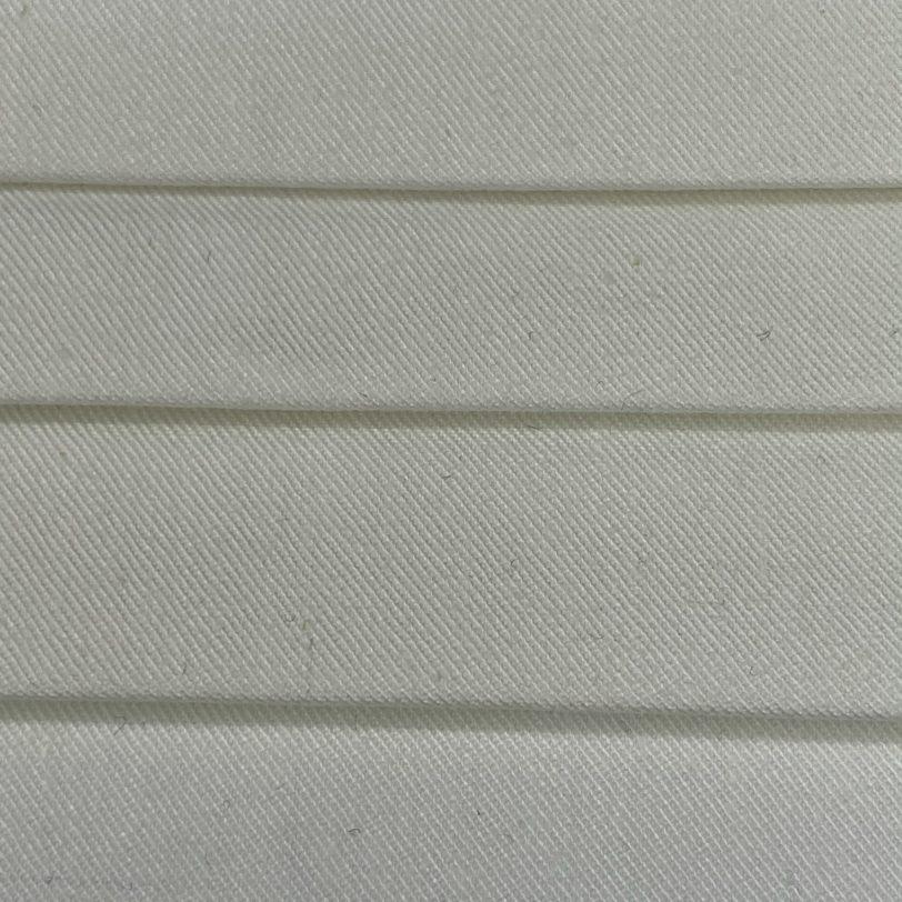 mascherina bianca lavabile dettaglio