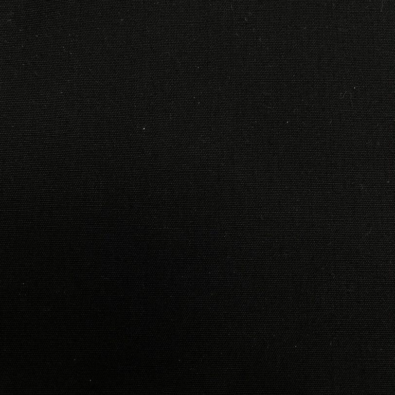 mascherina nera lavabile dettaglio